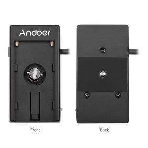 Image 5 - Andoer камера Blackmagic Cinema BMPCC 4K Адаптер блока питания с пружинным кабелем для Sony NP F970 F750 F550 аккумулятор