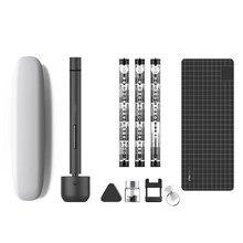 Pour Wowstick 1F Pro Mini tournevis électrique Rechargeable sans fil Kit de tournevis électrique lumière LED au Lithium à piles