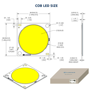 Image 4 - Full Spectrum Hydroponics LED Grow Light 285W 3500K Citizen CLU058  LED Plant Growing Lamp For Greenhouse Indoor Plants Growth