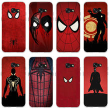 Amazing Super Hero Spider-Man Logo Slim Soft TPU Phone Case for Samsung Galaxy S2 S3 S4 S5 Mini S6 S7 Edge S8 S9 S10 Plus Lite(China)
