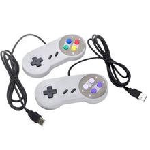USB Controllerจอยสติ๊กสำหรับเล่นเกมGamepad ControllerสำหรับNintendo SNESเกมPadสำหรับWindows PCสำหรับMACคอมพิวเตอร์ควบคุมจอยสติ๊ก