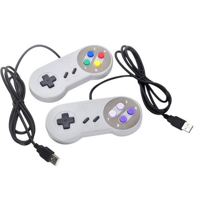 USB Controller Gaming Joystick Gamepad Controller for Nintendo SNES Game pad for Windows PC For MAC Computer Control Joystick
