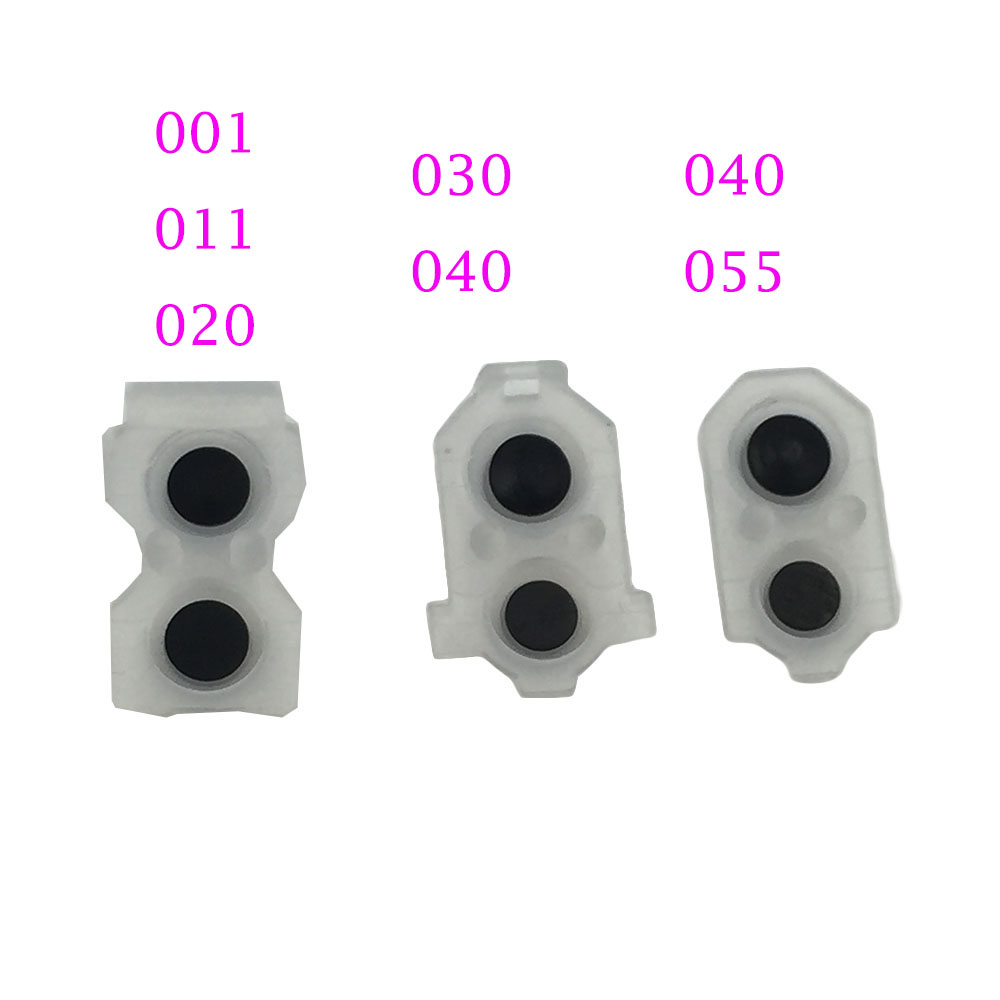 1set=2pcs For Ps4 Slim & Pro Controller Buttons Button L1 R1 L2 R2 L1R1 L2R2  Rubber Pads Button Rubber