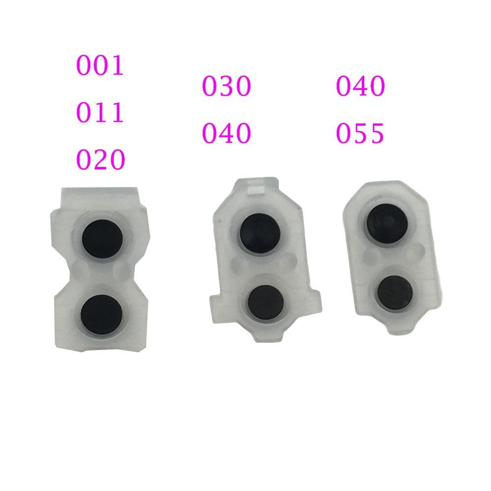 1set=2pcs For Ps4 Slim & Pro Controller Buttons Button L1 R1 L2 R2 L1R1 L2R2  Rubber Pads Button Rubber