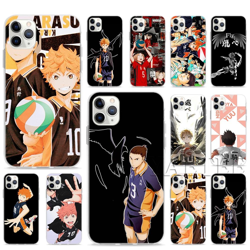 Haikyuu!! Karasuno Jersey Shoyo Hinata New Coque Case For Apple iPhone SE2 SE(2020) 11 Pro XS Max X XR 6 6s 7 8 Plus 5 5S Cover|Специальные чехлы|   | АлиЭкспресс
