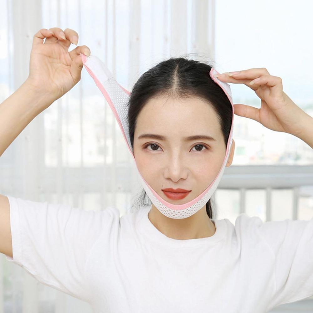Delicate Facial Thin Face Thining Band Mask Slimming Bandage Skin Care Belt Shape And Lift Reduce Double Chin Face Mask