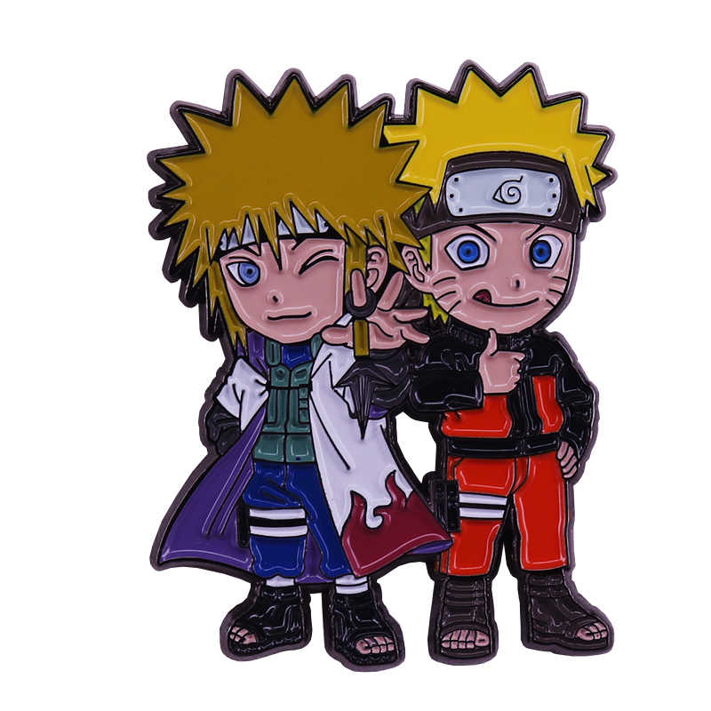Naruto Thema Emaille Pin Japan Anime Fans Flair Toevoeging