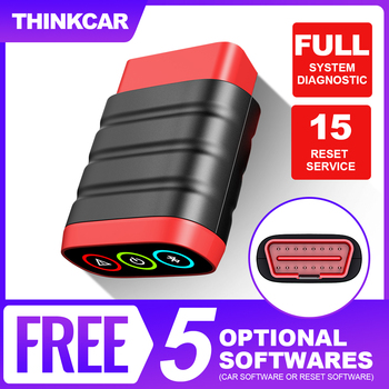THINKCAR Thinkdiag Mini OBD2 Scanner Professional Full System Car Diagnostic Tools Easydiag Bluetooth OBD 2 Scanner Automotriz new thinkcar thinkdiag same as easydiag 3 0 x431 bluetooth adapter update online full system obd2 scanner diagnostic tool