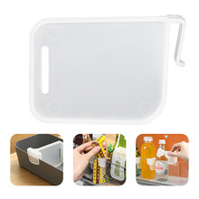 4 pièces/ensemble Transparent réfrigérateur cloison diviseur cuisine réfrigérateur boîte de rangement Clip réglable réfrigérateur organisateur