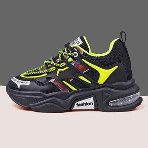 Image 4 - Aiyuqi mulheres sapatos casuais 2020 outono novas sapatilhas de couro genuíno selvagem moda casual correndo sapatos planos femininos