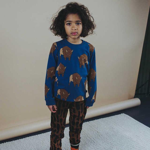 Kids Sweaters Brand New Autumn Winter Bird Print Sweatshirts 2