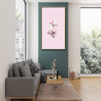 Personalized Erika Lynn Lange Modern Hd Printed Scenery Poster Canvas Painting For Living Room Lienzos Cuadros Decorativos image