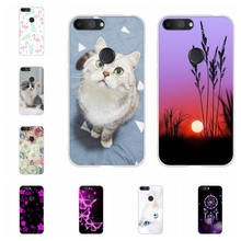 For Alcatel 1S 2019 Case Ultra-thin Soft TPU Silicone 1s Cover Cute Cartoon Patterned alcatel Bumper Shell