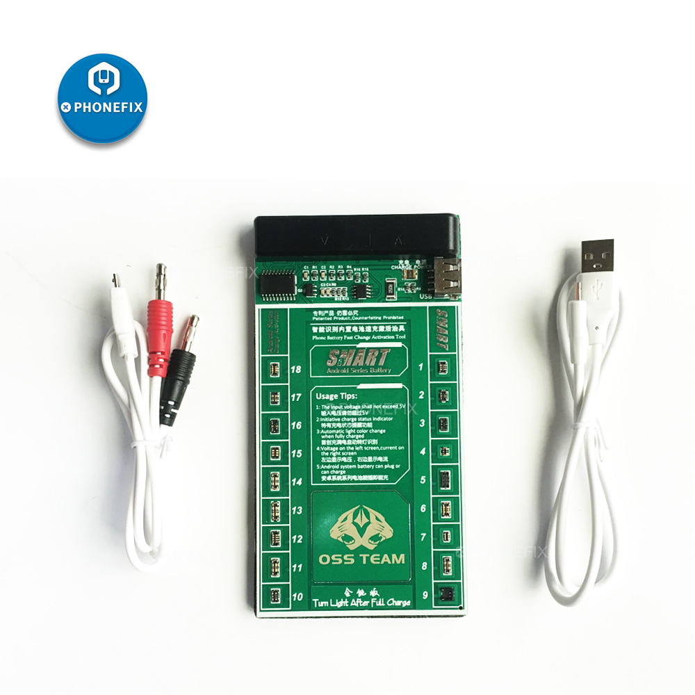 2 IN 1 Android  Smartphones Battery Fast Charging + Activation Board Tool For Huawe OPPO VIVO Xiaomi Lenovo  Leshi Meizu repair|Hand Tool Sets| |  - title=