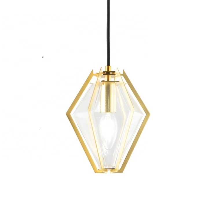 High Quality Vintage Lantern Lighting Creative Green Glass Cage Pendant Light For Restaurant Hanging Lamp Luminaire Suspendu