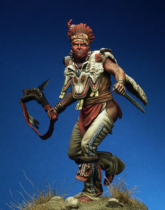 1/24 75mm Ancient Warrior With Base  Resin Figure Model Kits Miniature Gk Unassembly Unpainted