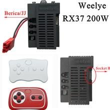 Coche eléctrico RX37 para niños, control remoto por Bluetooth, juguete de alta potencia, 2,4G, controlador con función de arranque suave