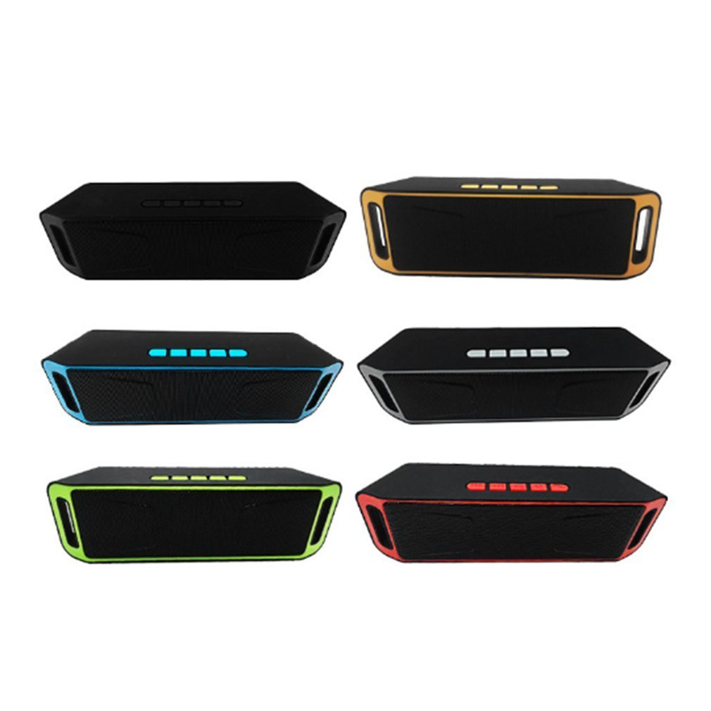 Wireless Speaker Subwoofer-Support Usb-Fm-Radio Stereo Dual-Bass Bluetooth-4.0 Built-In title=
