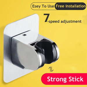 SHAI New Arrival Shower Head Holder Wall Mounted Shower Holder Bathroom Accessory 7-Speed Adjustable Shower Bracket Easy To Use
