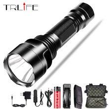 Super bright LED Flashlight 5 lighting modes Led