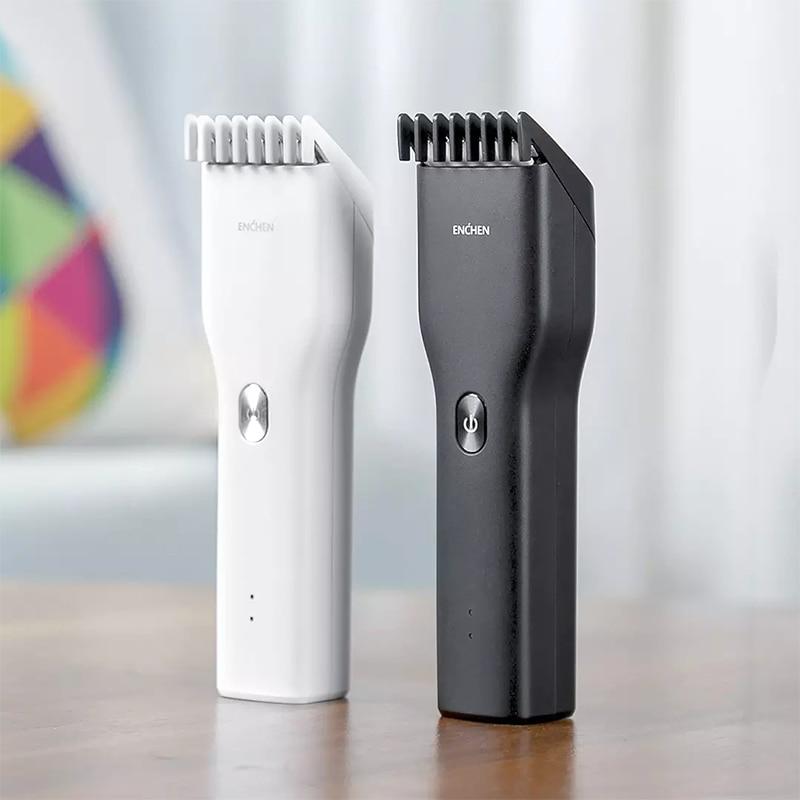 Enchen Boost Electric Hair Trimmer Clipper USB Ceramic Hair Cutter Professional Fast Charging Hair Men Trimmer Clipper Children