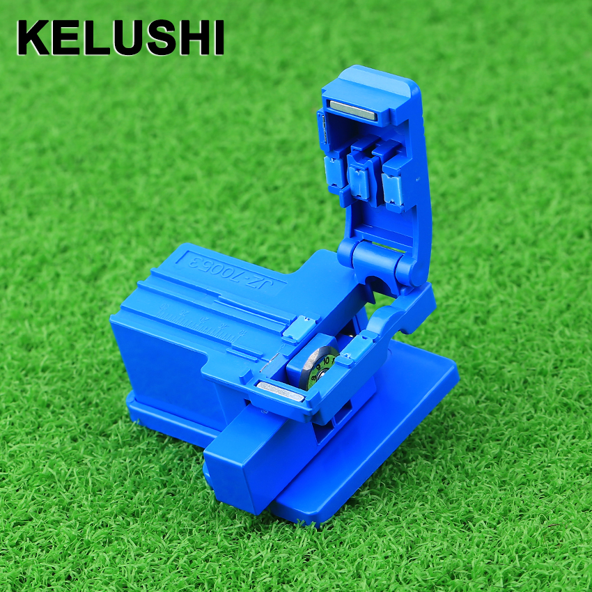 KELUSHI MINI Fiber Cutting Tool ABS Plastic Optical Fiber Cleaver For Cutting Fiber Cable FTTH Cutter