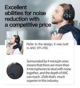 Image 5 - Bluedio – écouteurs sans fil Bluetooth T7 Plus, avec reconnaissance faciale, suppression du bruit actif, ANC, fente pour carte sd
