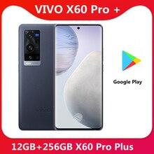 Original VIVO X60 Pro Plus 12G 256G 5G SmartPhone Snapdragon 888 5nm Super 6,56 ''120Hz Pantalla Amoled superllamativas cargador de teléfono