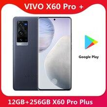 オリジナルビボX60プロプラス12グラム256グラム5グラムスマートフォンのsnapdragon 888 5nmスーパー6.56 120 60hzのamoledスクリーンスーパーフラッシュ充電器電話