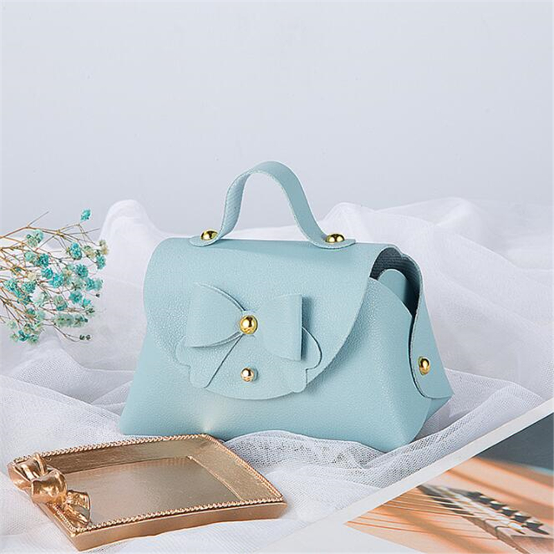 Wedding Mini Handbag Gift Bags Packaging Baby Shower Cake Chocolate Bags Cosmetic Lipstick Perfume Business Packaging Bag