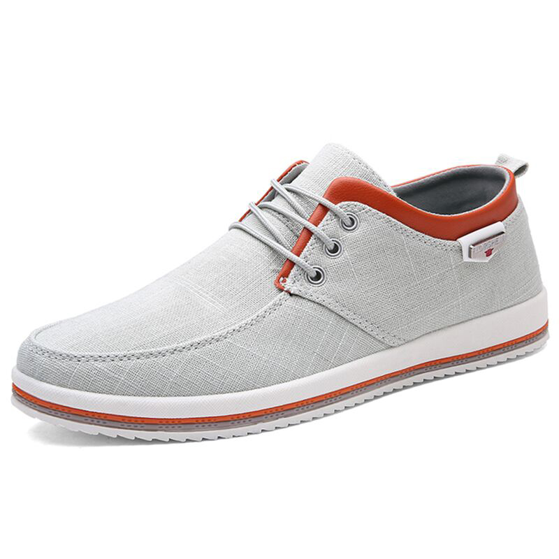 Casual-Shoes Shoe-Aehq0180 Flat-Loafers Comfortable Autumn Men Fashion Brand Spring Canvas