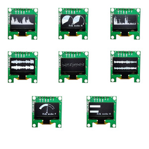 Image 4 - Мини анализатор спектра музыки OLED, 0,96 дюйма, MP3, ПК, усилитель, индикатор уровня звука, анализатор ритма музыки, измеритель УФ