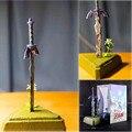 26cm em estoque zelda skyward espada, link, mestre, figura de ação, modelo, brinquedos, boneca para presente