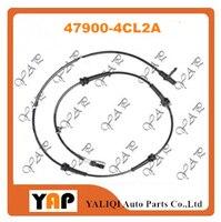 ABS SENSOR ASSY-ANTISKID REAR Right/Left FOR FITNISSAN X-TRAIL QASHQAI T32W T32Z J11Z MR20DD HRA2DDT 2WD 47900-4CL2A 2014-2015