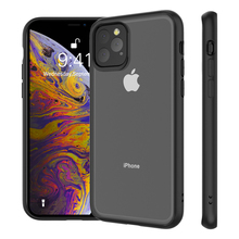 купить For iPhone 11 11 Pro 11 Pro Max Case Clear Hybrid TPU+PC Transparent Silicone Bumper Shockproof Cover for iPhone 11 XI 2019 Case дешево