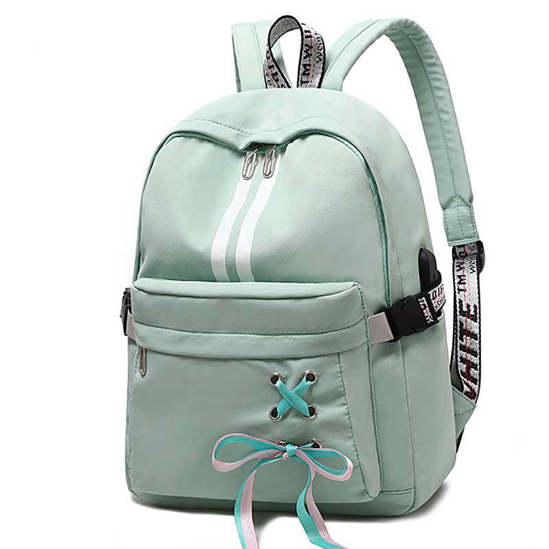 Women Backpack Oxford Cloth Waterproof Student Bag Travel Casual Outdoor mochila feminina