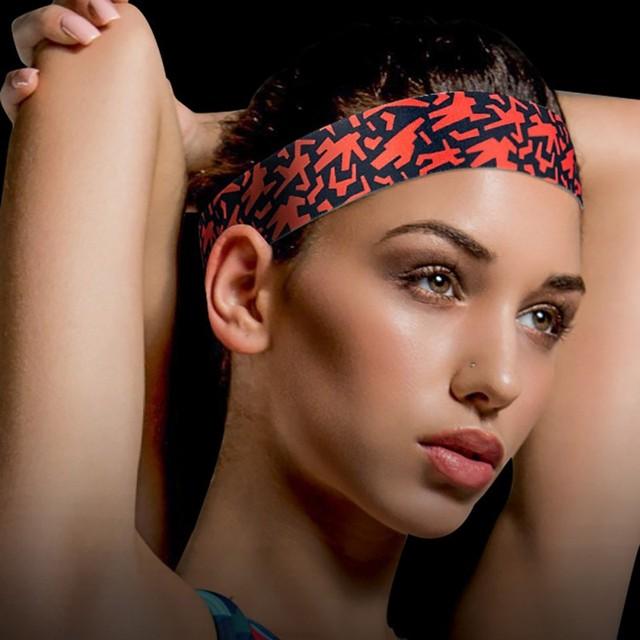 New Hot sweat-proof belt headband sport fitness sweatband sweat Outdoor sports protective gear headband men sports 1