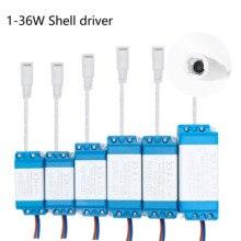 1w 36w leds driver com 5.5*2.1mm fêmea conector fonte de alimentação corrente constante 300ma iluminação transformadores para led luz tira