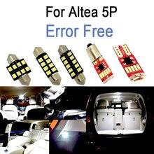 11 шт. x Canbus Error Free светодиодный внутренний купол лампы для чтения лампы Комплект для Seat Altea 5P 5P1 5P5 5P8 XL (2004-2015)