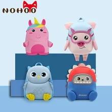 Toddler Backpack Kindergarten NOHOO Child Travel-Bags Kid for Boy Girl Waterproof 3d-Animal