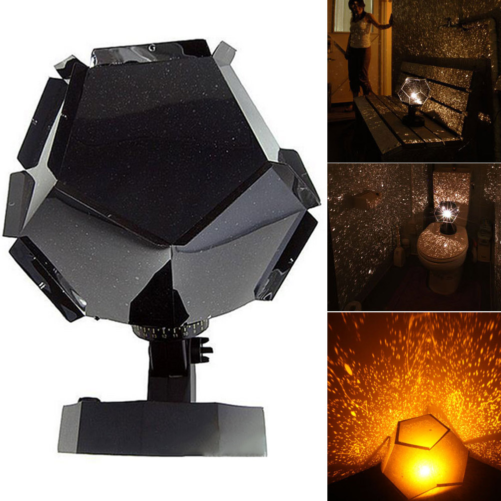 Christmas 60000 Stars Starry Sky Projector Light DIY Assembly Home Planetarium Lamp For Bedroom DC120