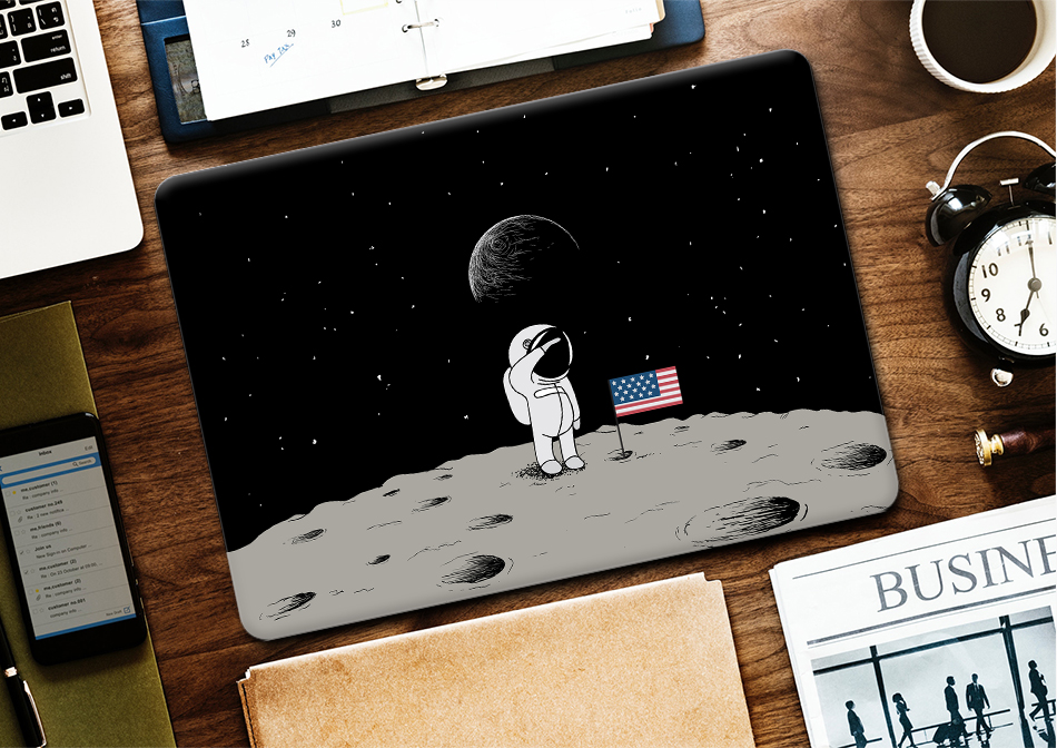 Space Pro Case for MacBook 9