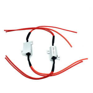 Image 3 - 2 Pcs 25W Load Resistors LED Flash Turn Signals Light Indicator Controllers Brake Running Motorcycle With 8 Quick Wire Clip