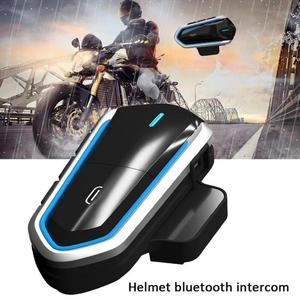 Беспроводная мотоциклетная гарнитура для шлема, Bluetooth гарнитура, наушники, голосовые наушники, водонепроницаемые беспроводные наушники дл...