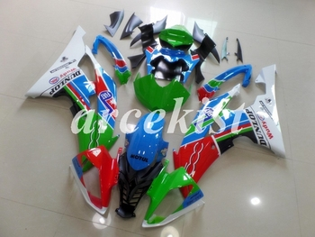 New ABS Motorcycle Full Fairings Kit Fit For YAMAHA YZF-R6 2008 - 2016 08 09 10 11 12 13 14 15 16 body set Green Red