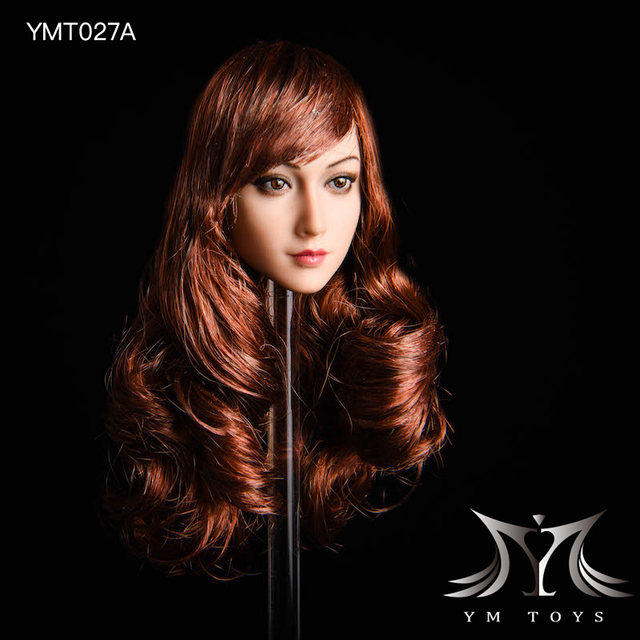 YMTOYS 1//6 Jasmine YMT027A Plant Hair Head Sculpt F Phicen//TBL Figure Body Dolls