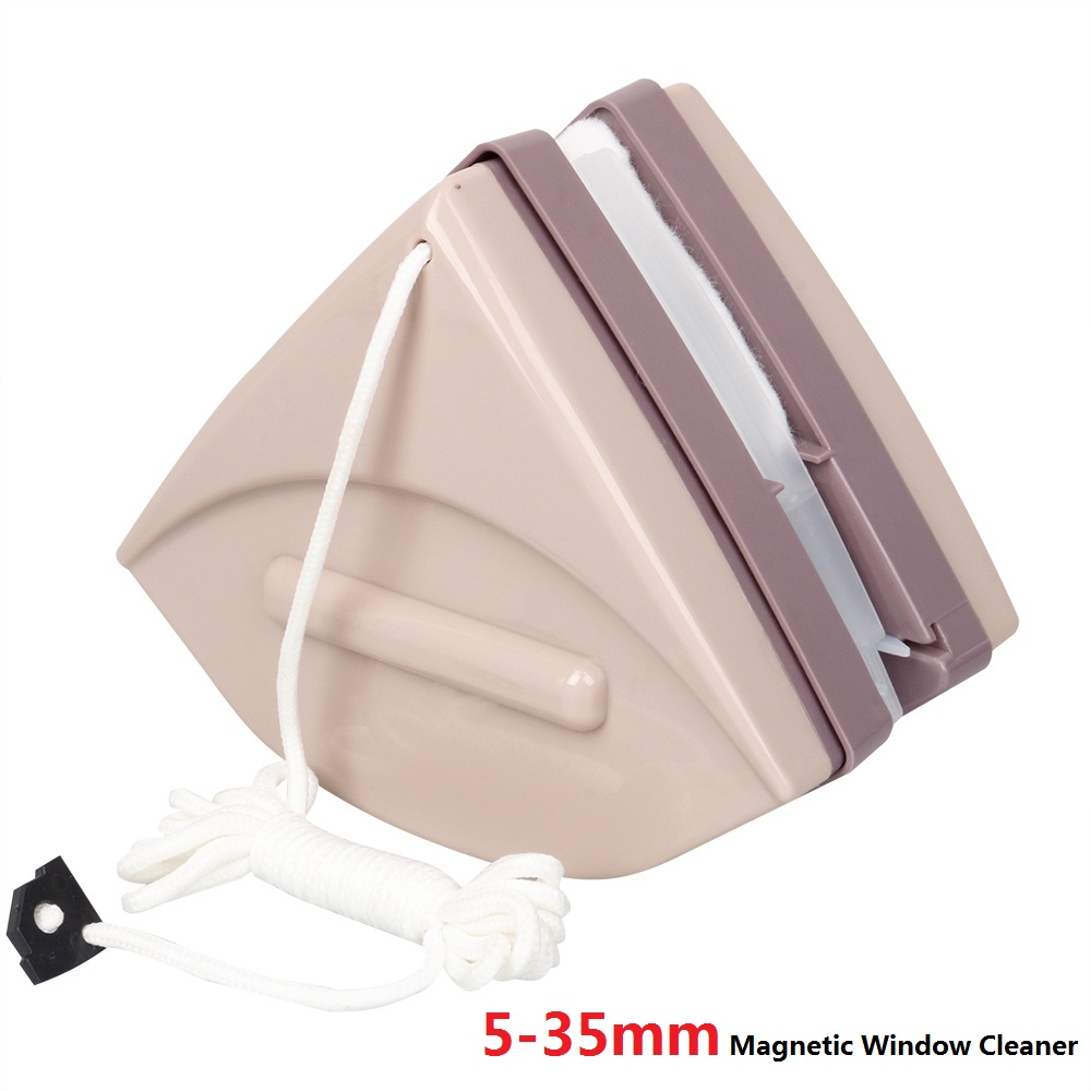 Glider Magnetic Window Cleaner Wiper Double Sided Magnetic Washing Windows Glass Cleaning Magnets Glazed Brush Washer Tools