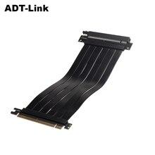 Hoge Snelheid Pc Grafische Kaarten Pci Express Connector Kabel Riser Card Pci E X16 3.0 Flexibele Kabel Uitbreiding Adapter Eth RTX3060