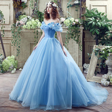 Quinceanera-Dress Ball-Gown Party Off-The-Shoulder Robe-De-Bal Elegant with Train Vestidos