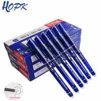 3/6/12pcs/Set Erasable Pen Washable Handle Blue/Black/Red 0.5mm Pens Refill Rod for Office Supplies Student Exam Spare